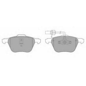 SIMER 838 АКЦІЯ!!! Гальмівні колодки дискові FORD (Europe) - SEAT - VOLKSWAGEN Galaxy/Galaxy Van/Alhambra/Alha