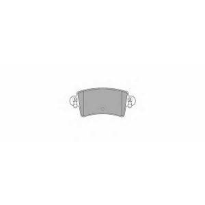 SIMER 850 АКЦІЯ!!! Гальмівні колодки дискові NISSAN - OPEL - RENAULT - VAUXHALL Interstar/Movano/Master T28/Ma
