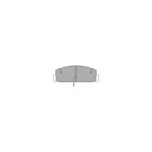 SIMER 915 АКЦІЯ!!! Гальмівні колодки дискові MAZDA 6/6 Estate/Wagon/Atenza