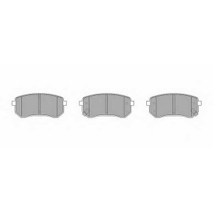 SIMER 929 АКЦІЯ!!! Гальмівні колодки дискові Kia Picanto 04-->