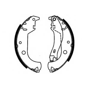 SIMER S677 АКЦІЯ!!! Гальмівні колодки барабанні Fiat Doblo… 02-