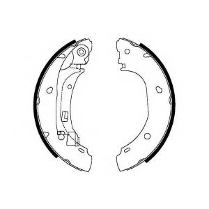 SIMER S698 АКЦІЯ!!! Гальмівні колодки барабанні CITROEN/FIAT/PEUGEOT