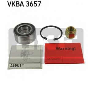 SKF VKBA3657 Підшипник ступиці, комплект CITROEN/PEUGEOT C3/C4/DS3/2008/207/208/301 \F \1,0/1,6L \02>>