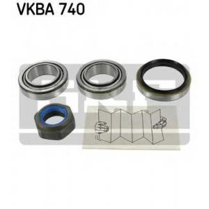 SKF VKBA740 Підшипник колеса,комплект