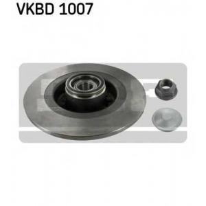 SKF VKBD1007 Гальмівний диск з підшипником