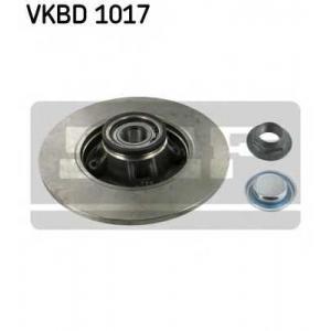 SKF VKBD 1017 SKF CITROEN Диск тормозн.задн.с подшипн. C4,DS4,Peugeot 308 07-