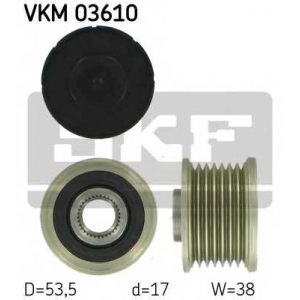 SKF VKM 03610 SKF RENAULT Ременный шкив генератора Master, Megane 05-,Laguna,Logan,Nissan