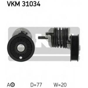 SKF VKM 31034 Натяжной ролик, поликлиновой  ремень