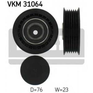 SKF VKM 31064 Натяжной ролик, поликлиновой  ремень