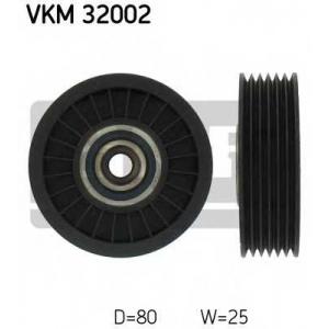 SKF VKM32002 Паразитный / ведущий ролик, поликлиновой ремень