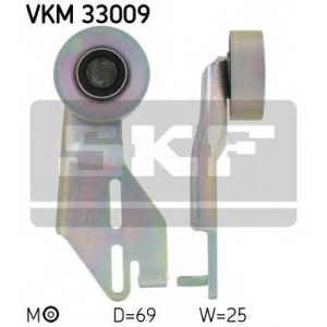 SKF VKM33009 Натяжной ролик, поликлиновой  ремень