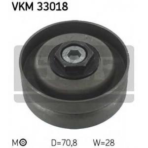 SKF VKM33018 Натяжной ролик, поликлиновой  ремень