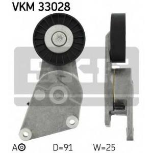 SKF VKM33028 Натяжной ролик, поликлиновой  ремень