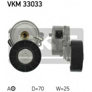 SKF VKM 33033 Натяжной ролик, поликлиновой  ремень
