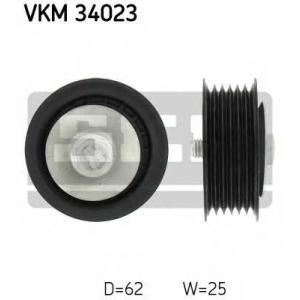 SKF VKM34023 Паразитный / ведущий ролик, поликлиновой ремень