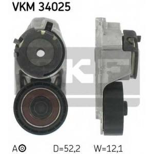 SKF VKM 34025 Натяжной ролик, поликлиновой  ремень