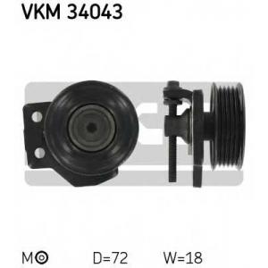 SKF VKM34043 Натяжной ролик, поликлиновой  ремень