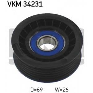 SKF VKM 34231 Ролик модуля натягувача ременя