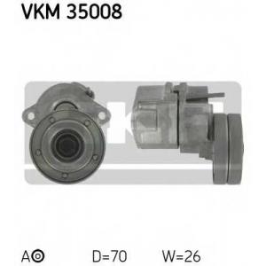 SKF VKM35008 Натяжной ролик, поликлиновой  ремень