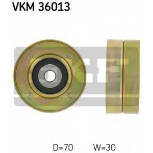 SKF VKM 36013 Ролик натяжной ремня водяной помпы Clio/19 F3N/F3P +AC 70x30