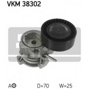 SKF VKM 38302 Натяжной ролик, поликлиновой  ремень
