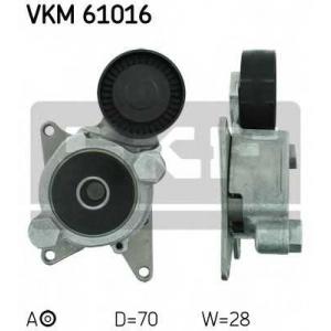SKF VKM61016 Натяжной ролик, поликлиновой  ремень