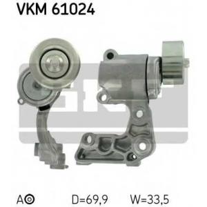 SKF VKM 61024 Натяжной ролик, поликлиновой  ремень