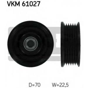 SKF VKM 61027 Паразитный / ведущий ролик, поликлиновой ремень