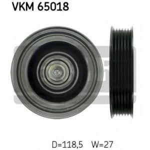 SKF VKM 65018 Паразитный / ведущий ролик, поликлиновой ремень