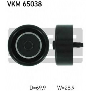 SKF VKM 65038 Паразитный / ведущий ролик, поликлиновой ремень