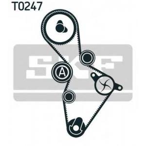 SKF VKMA 01222 SKF К-кт ГРМ (рем.+3 ролика +крепл.) Golf,Passat,Audi A4,Skoda