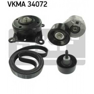 SKF VKMA34072 Belt  kit + pulley