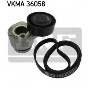 SKF VKMA36058 Belt  kit + pulley