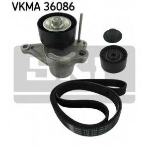 SKF VKMA36086 Belt  kit + pulley