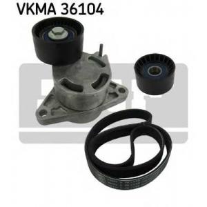 SKF VKMA36104 Belt  kit + pulley