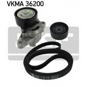 SKF VKMA 36200 Роликовий модуль натягувача ременя (ролик, ремінь)