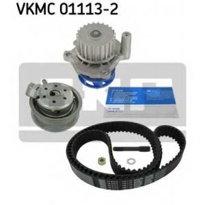 SKF VKMC 01113-2 Водяной насос + комплект зубчатого ремня