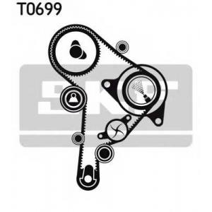 SKF VKMC 01251 Роликовий модуль натягувача ременя (ролик, ремінь, помпа)