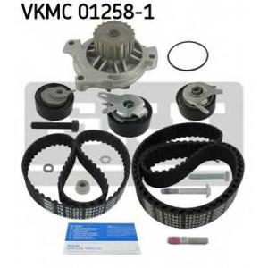 SKF VKMC 01258-1 Роликовий модуль натягувача ременя (ролик, ремінь, помпа)
