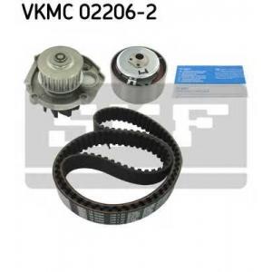 SKF VKMC 02206-2 Ремінь ролик помпа комплект