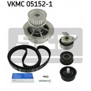 SKF VKMC 05152-1 Роликовий модуль натягувача ременя (ролик, ремінь, помпа)