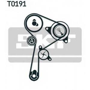 SKF VKMC 06134-3 Ремінь ролик помпа комплект