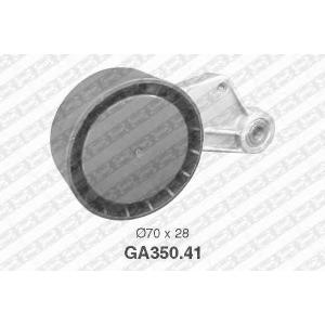 SNR GA35041 Натяжной ролик, поликлиновой  ремень