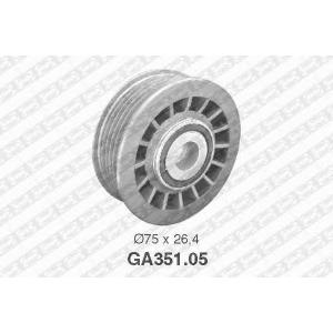 SNR GA351.05 Ролик паразитный MB OM601-603 (ручейковый)