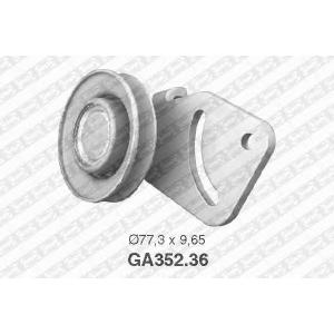 SNR GA35236 Натяжной ролик, поликлиновой  ремень