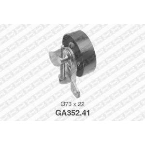 NTN-SNR GA352.41 Натяжной ролик, поликлиновой  ремень FORD 1089679 (Пр-во NTN-SNR)