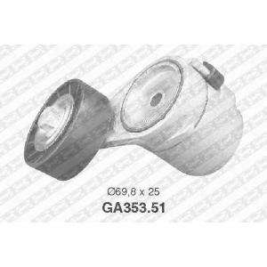 SNR GA35351 Натяжной ролик, поликлиновой  ремень