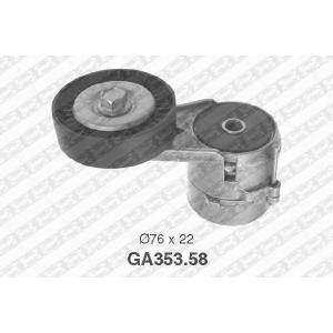 NTN-SNR GA353.58 Натяжной ролик, поликлиновой  ремень OPEL 1340555 (Пр-во NTN-SNR)