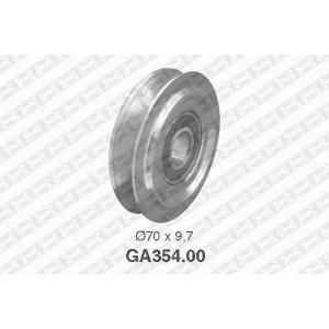 SNR GA35400 Паразитный / ведущий ролик, поликлиновой ремень