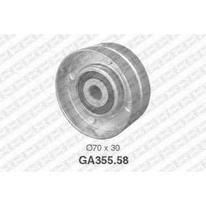 SNR GA35558 Паразитный / ведущий ролик, поликлиновой ремень